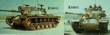 美国制作的M48系列主战坦克纵览