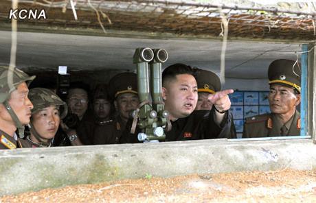 朝鲜领导人金正恩要求其参谋部拟定详细作战方案