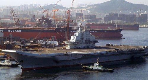 我国航空母舰现已进行高难度海试 这意味其执役在即