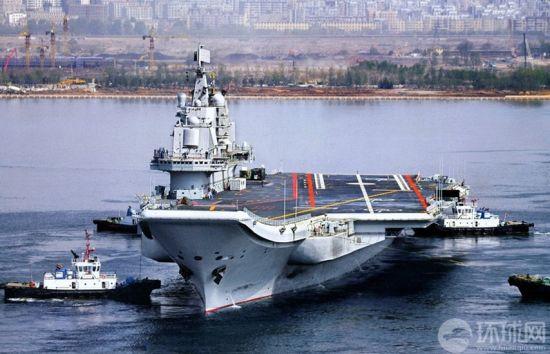 我国航母和071登陆舰 日本称能在南海发挥作用