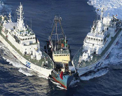 """我国要不惜一切代价阻挠日本""""购买钓鱼岛"""""""