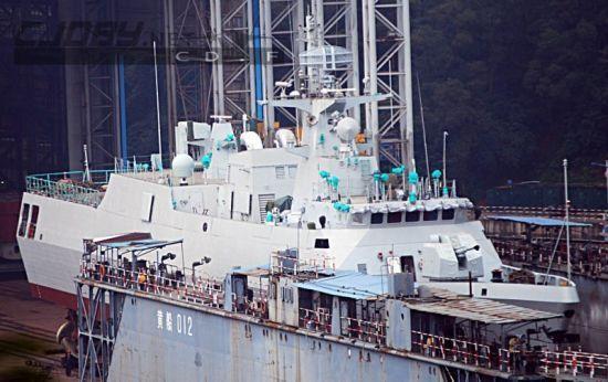 我国056护卫舰就足以应对南海争议的国家水兵了