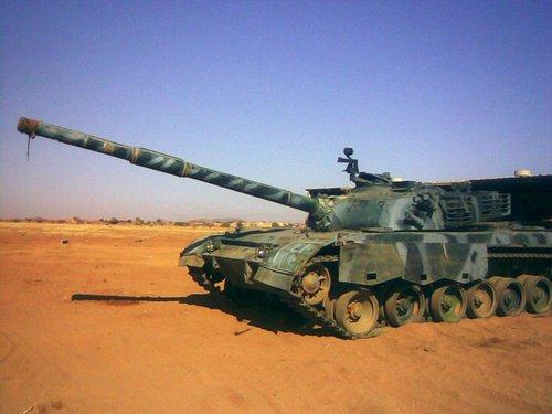 苏丹的96式坦克防护火力均优于南苏丹的T