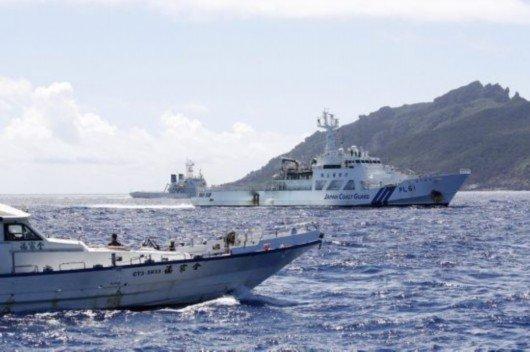 日本拒绝中国抗议 并开始加强警戒以防止中国海监船