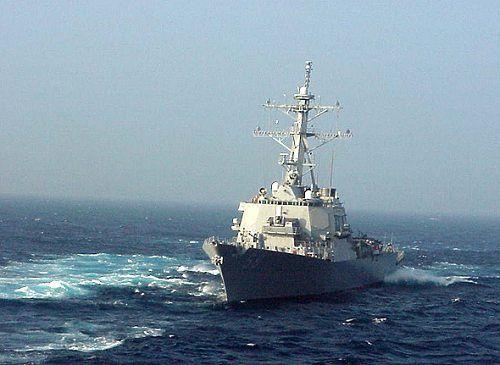 美国向利比亚海域派出两艘战舰,并配有战斧巡航导弹