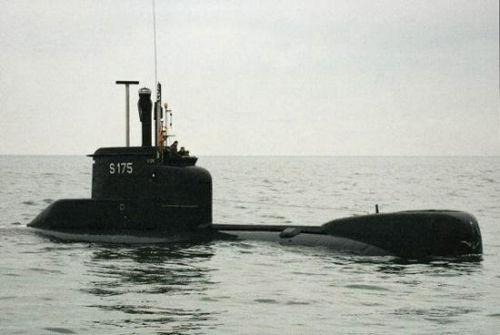 哥伦比亚水兵从德国水兵引入2艘206A型惯例潜艇