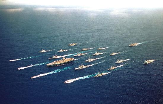 抢夺第一艘航空母舰的入役将会促进抢夺海军整合舰队