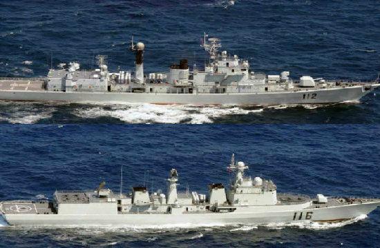 日防卫省称7艘助威军舰4日穿过冲绳驶向太平洋