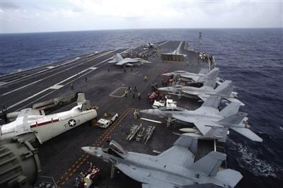 """我国南海问题晋级 美国""""乔治·华盛顿""""号核动力航母穿越我国南海"""