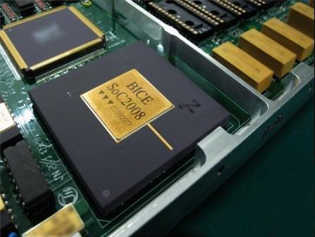 SoC2008的片上体系芯片 在实践9B卫星上发挥着它的功能