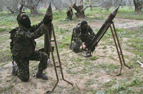 巴勒斯坦哈马斯向以色列发射4枚导弹 重复着几千年抵触
