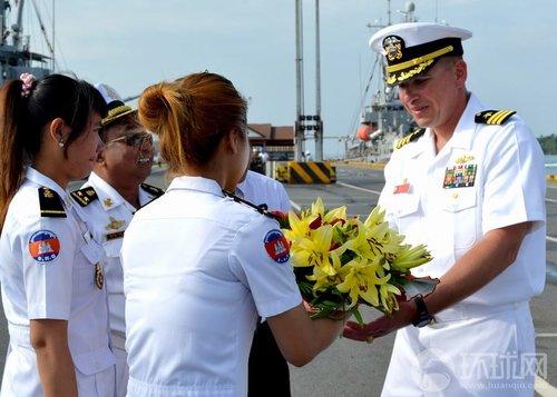 """美国、越南要求柬埔寨改动支撑我国 并在东盟会议上力推""""南海行为准则"""""""