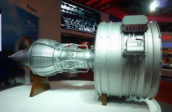 我国国产CJ1000A大型涡扇发动机露脸珠海航空展