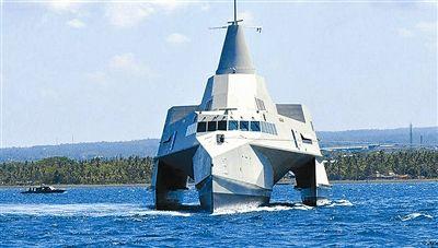 三体战舰 美国同日本方案近后共同开发