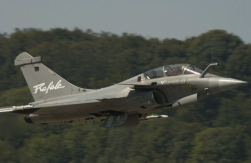 印度将追加订单 向法国订货63架阵风战斗机