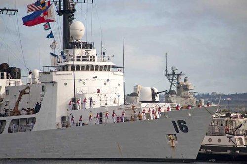 """""""二手舰船是废品""""美国同日本卖给菲律宾的舰船无法抵御我国兵器"""