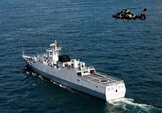 056号梅州舰正式入列 我国南海舰队近来新增1艘轻型护卫舰