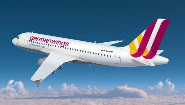 148人生死未卜,德国之翼航空一架空客A320飞机在法国南部坠毁