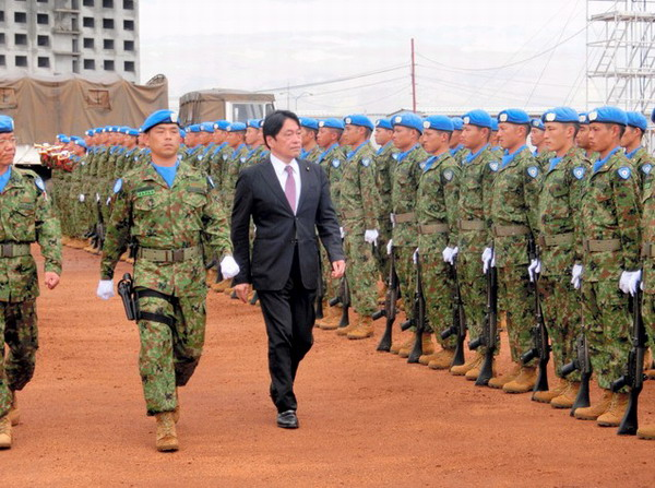 日本维和自卫队新任务是什么?日本政府推延是否赋予其权限为哪般?