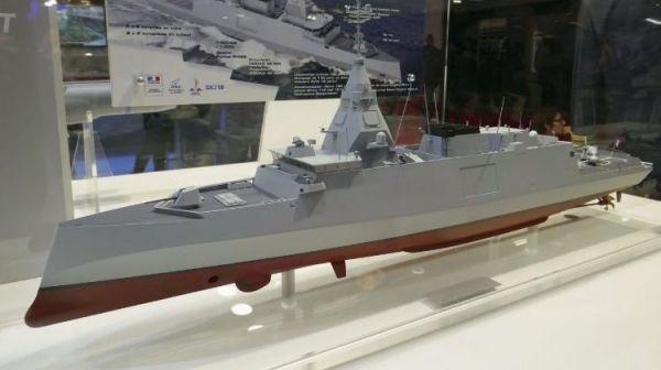 高度模块化集成的法国发布新一代中型护卫舰估计2017年第一季度签约