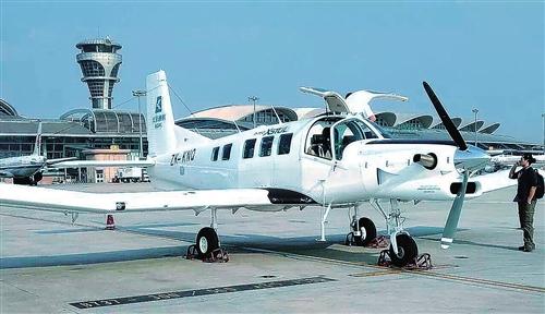 北汽集团不只造车还造飞机,泛太平洋航空首架P750飞机复装下线