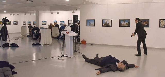 俄罗斯驻土耳其大使遭极点安排枪杀,普京的强烈报复将避开土耳其