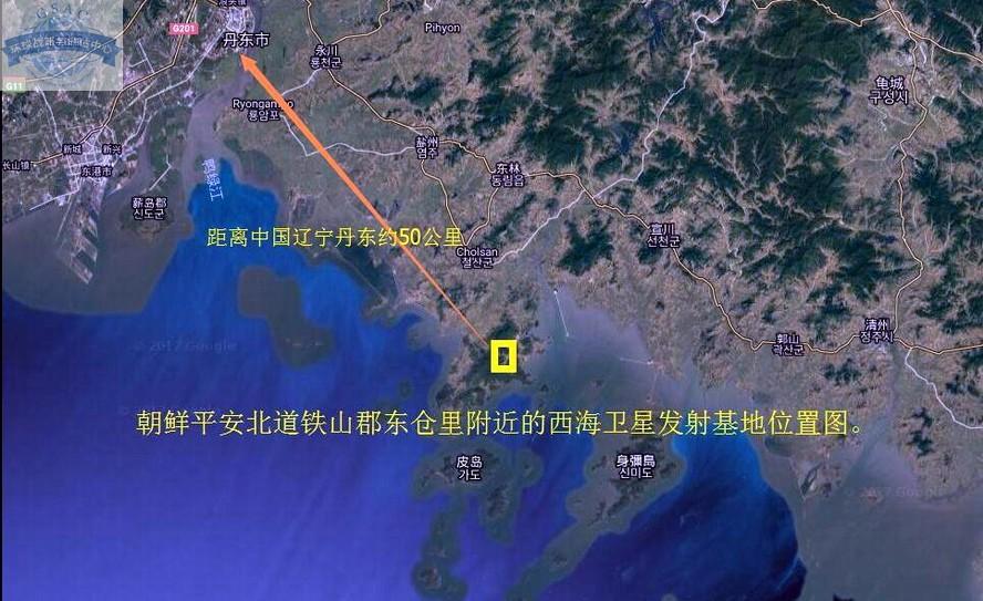 朝鲜发射4枚导弹以投合美韩军演,其发射场距我国丹东仅50公里