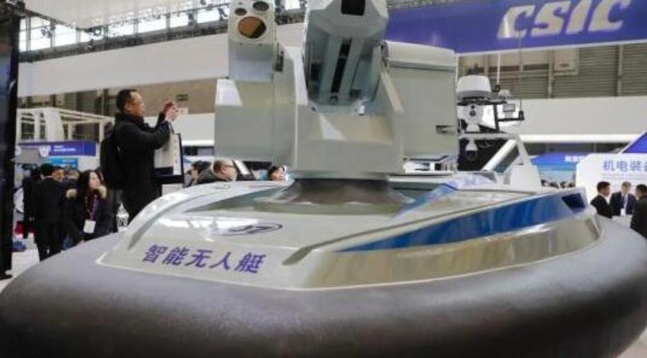 超强自动化、全火力网,我国推出国际最快的无人水面艇