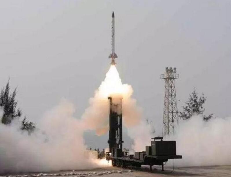 第4个具有反导体系大国?印度成功进行低层反导阻拦实验剑指我国
