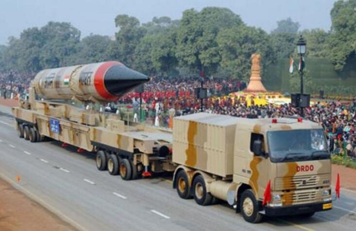 印度烈火5型导弹可抵消300枚春风DF